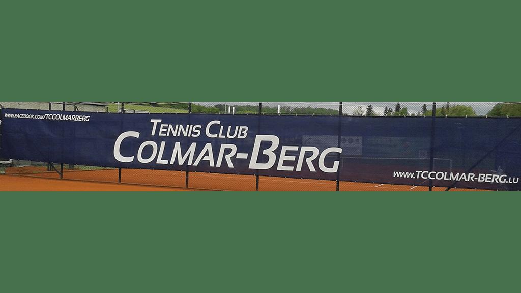 Tennisblende 18x2 m saphirblau - Colmar Berg 3-min