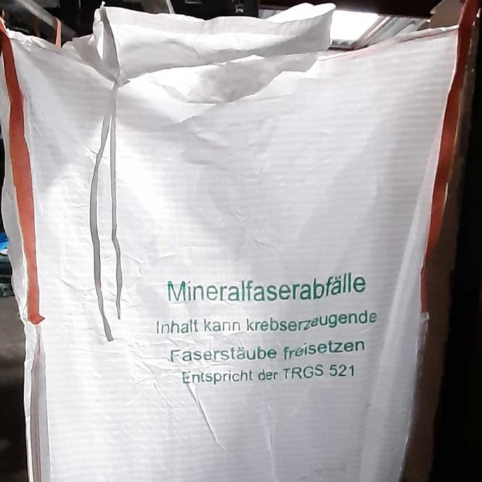 Mineralwolle Big Bags