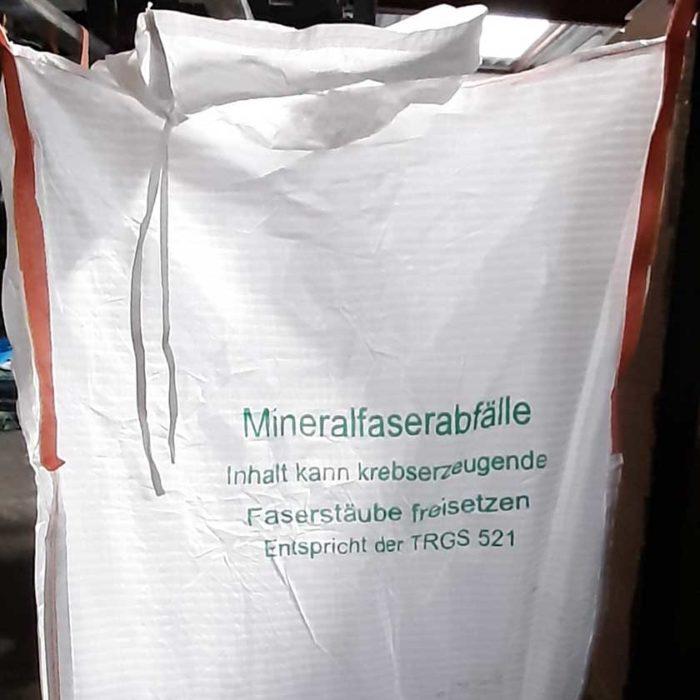 Mineral wool Big Bags