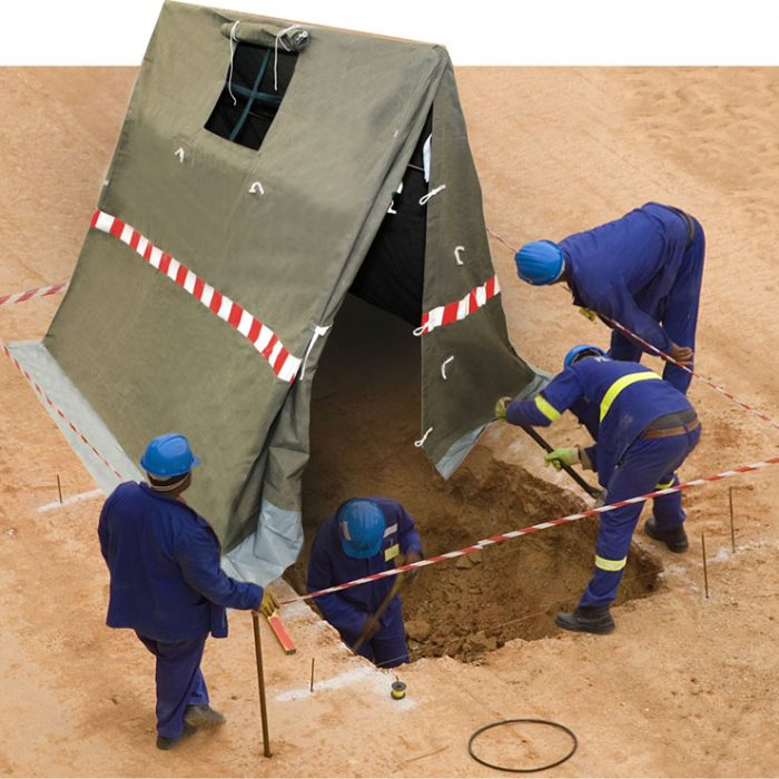 Cable Brazing Tents