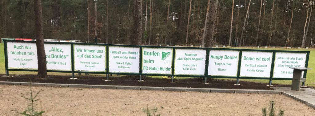 Referenz Meshbanner FC Hohe Heide