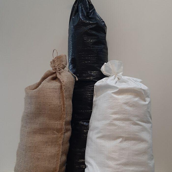Unsere Sandsäcke als Hochwasserschutz